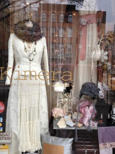 Kimera's holiday window