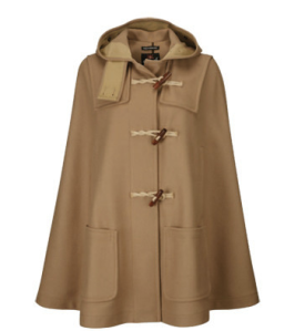 Dry Goods' Gloverall Monty Cape
