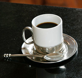Sterling Place Espresso Cup with Saucer and Spoon